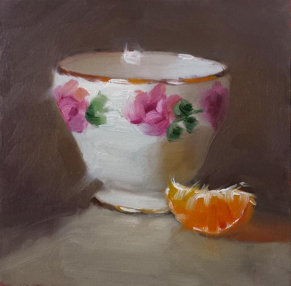 """Rose Bowl"" original fine art by Cindy Haase"