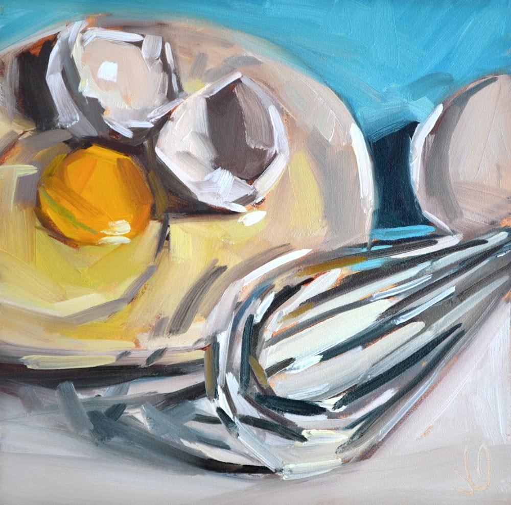 """Cracked"" original fine art by Jessica Green"