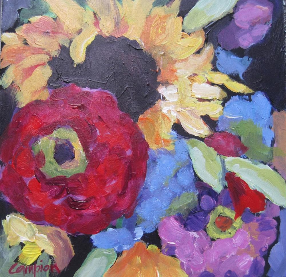 """155 Stealing the Show"" original fine art by Diane Campion"