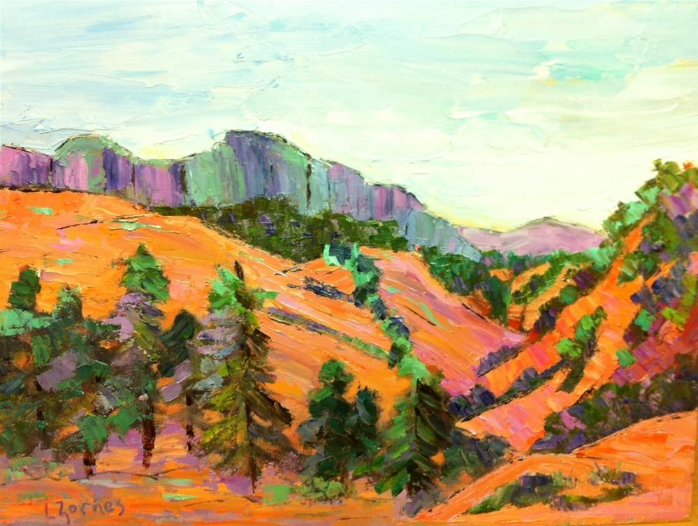 """Zion Vista"" original fine art by Liz Zornes"