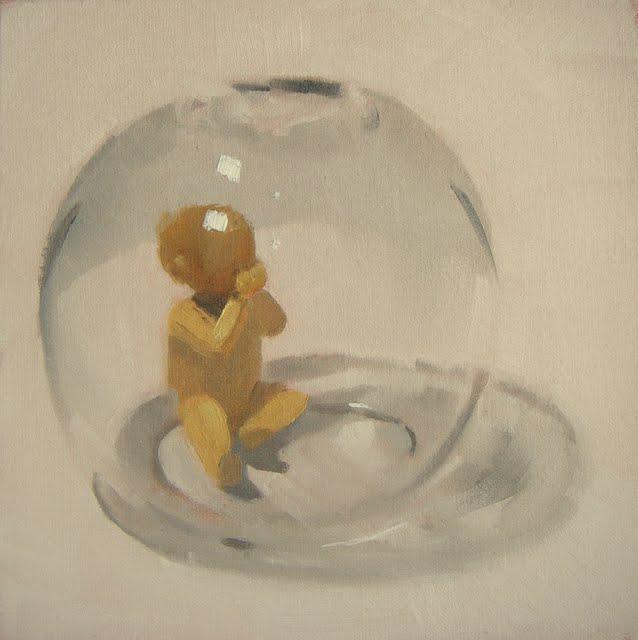 """BUB~BLE"" original fine art by Helen Cooper"