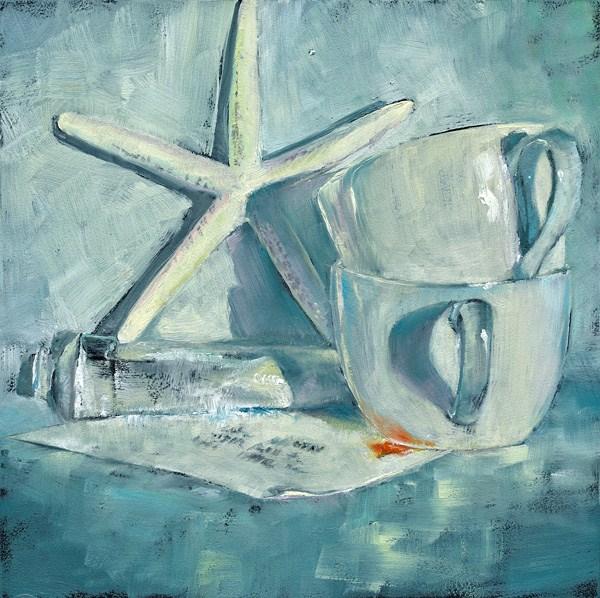 """""""White on White"""" original fine art by Brenda Ferguson"""