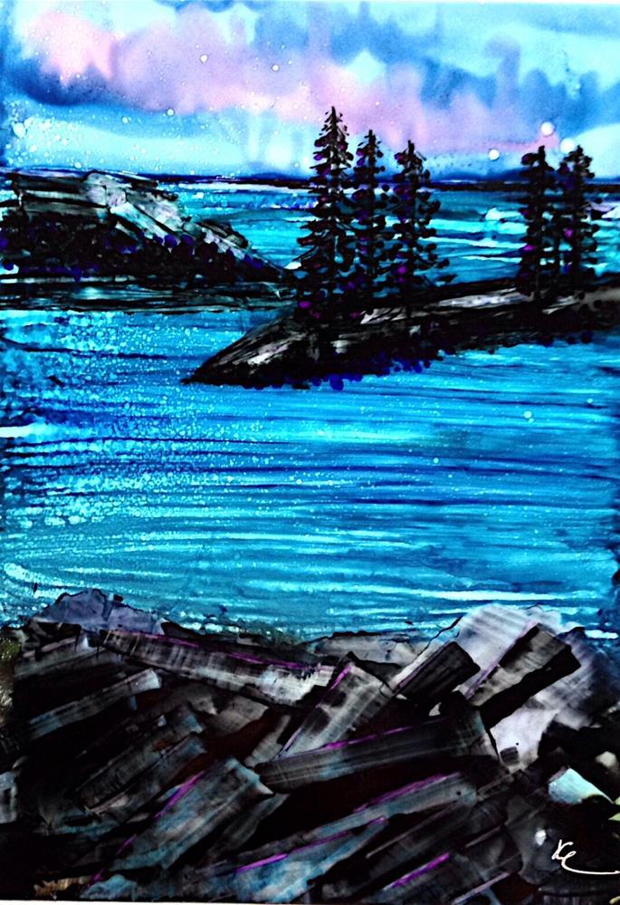 """Railcar View"" original fine art by Korinne Carpino"