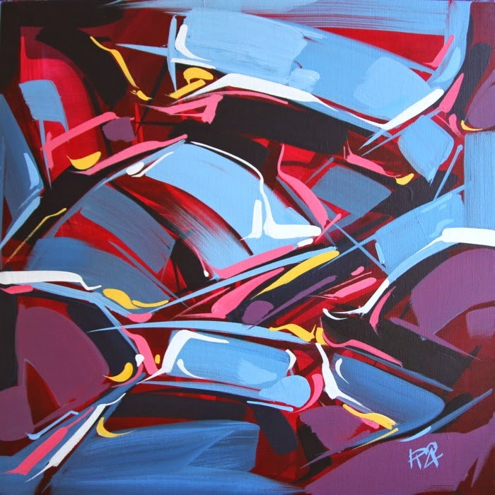 """""""Shapes & Movement 27"""" original fine art by Roger Akesson"""