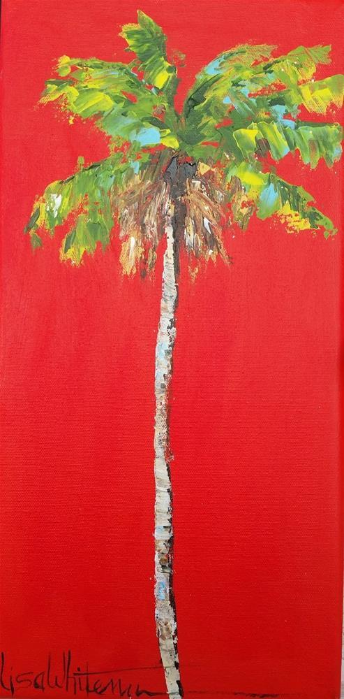 """2 - Skinny"" original fine art by Lisa Rogers"