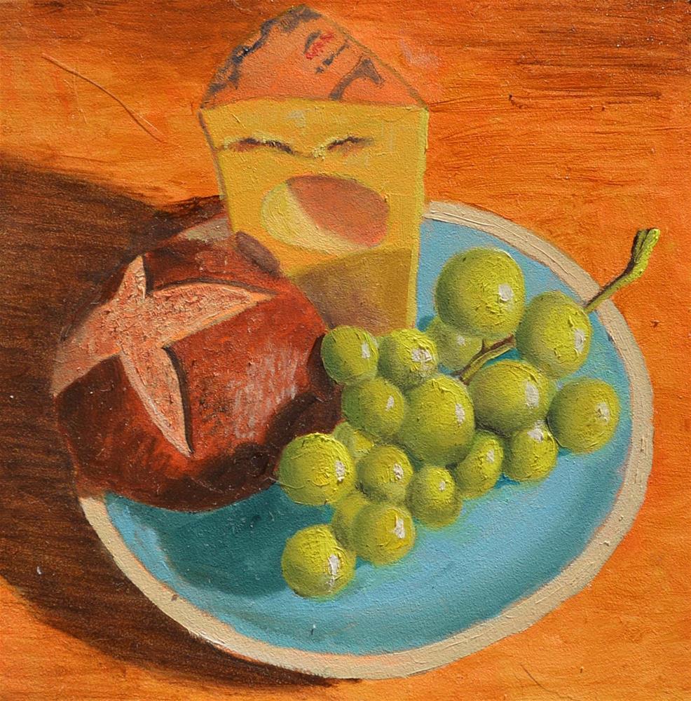 """Appetizing Appetizer"" original fine art by Robert Frankis"