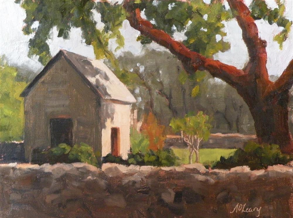 """""""Rockwall Ranch"""" original fine art by Alice O'Leary"""
