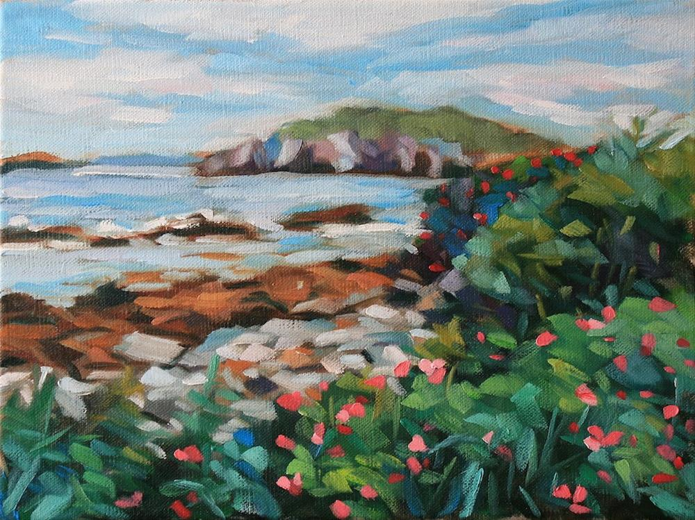 """Island Pass"" original fine art by Mary Anne Cary"