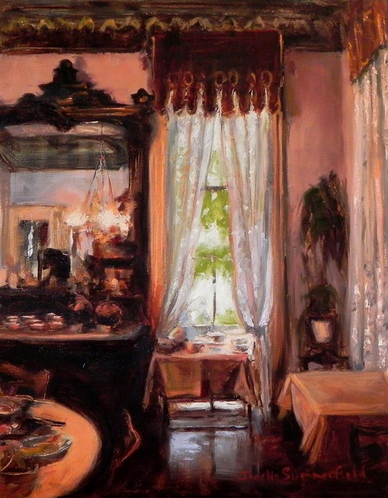 """Afternoon Tea"" original fine art by Jonelle Summerfield"