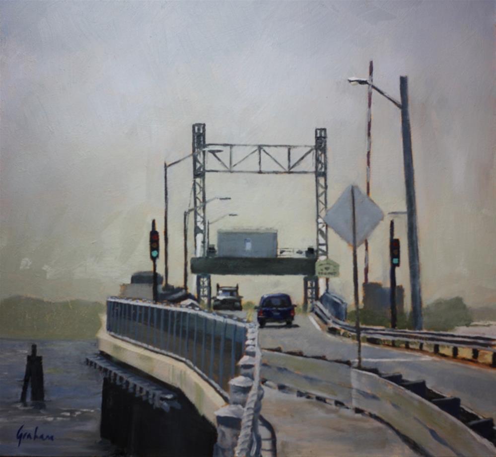 """""""Entering Tisbury"""" original fine art by Graham Townsend"""