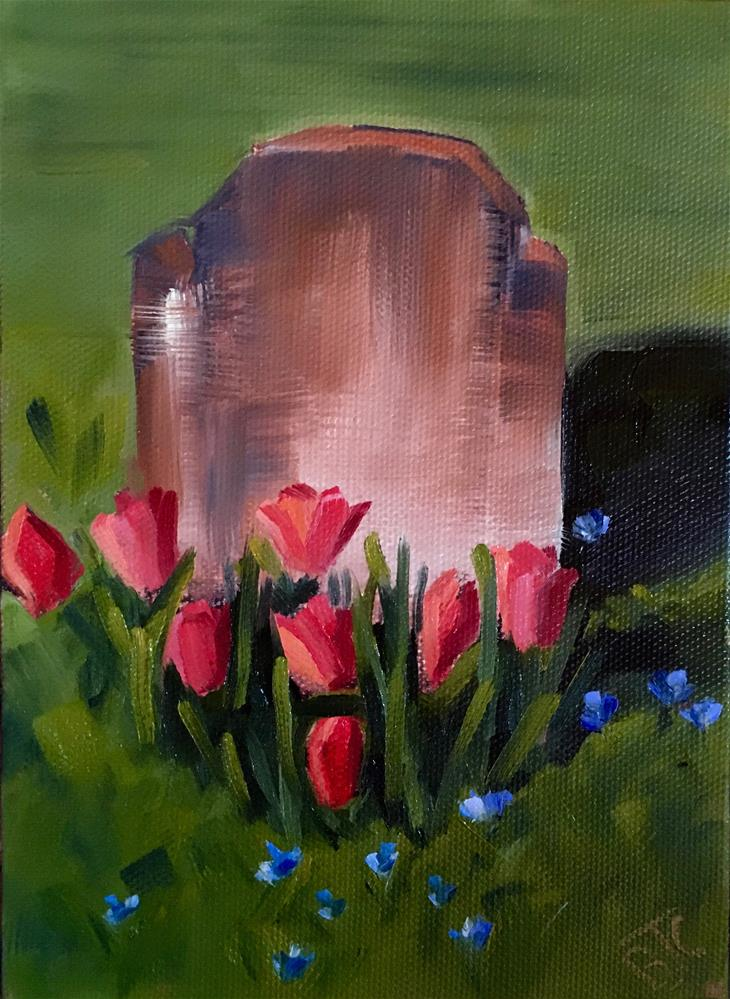 """""""A Special Regard to Those Lost, Missing, or Unknown"""" original fine art by Bobbie Cook"""