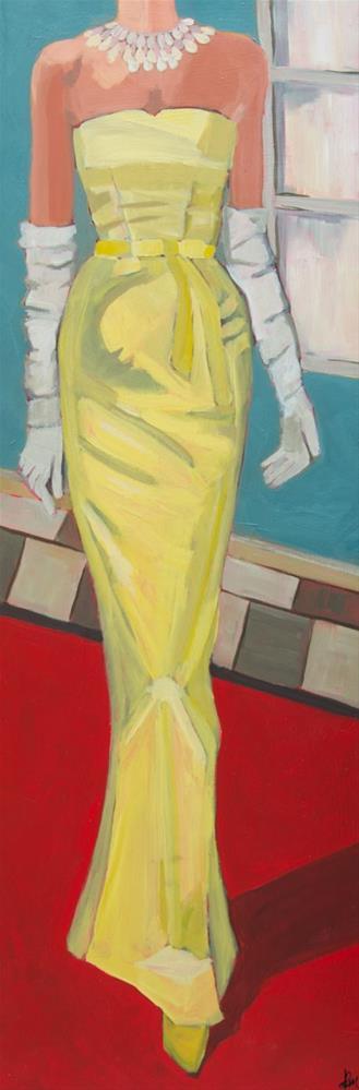 """My Big Night (#421)"" original fine art by Debbie Miller"