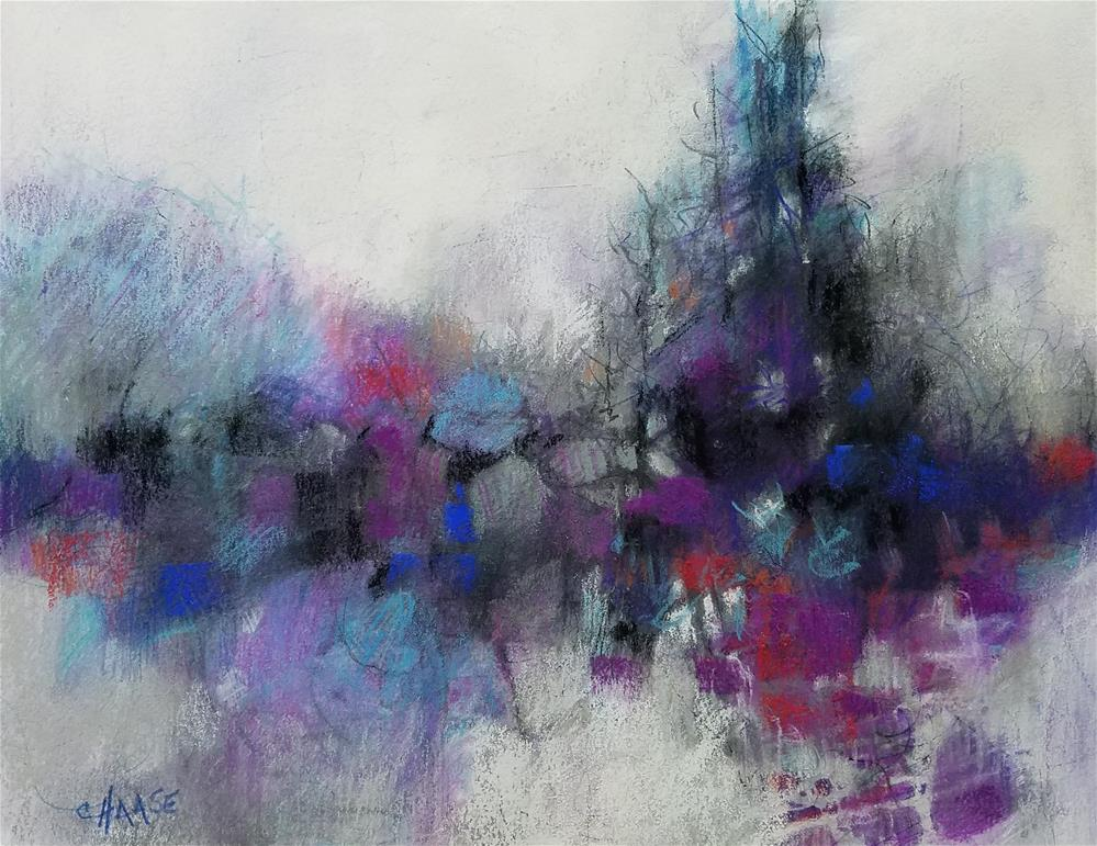"""""""Streams of Consciousness"""" original fine art by Cindy Haase"""
