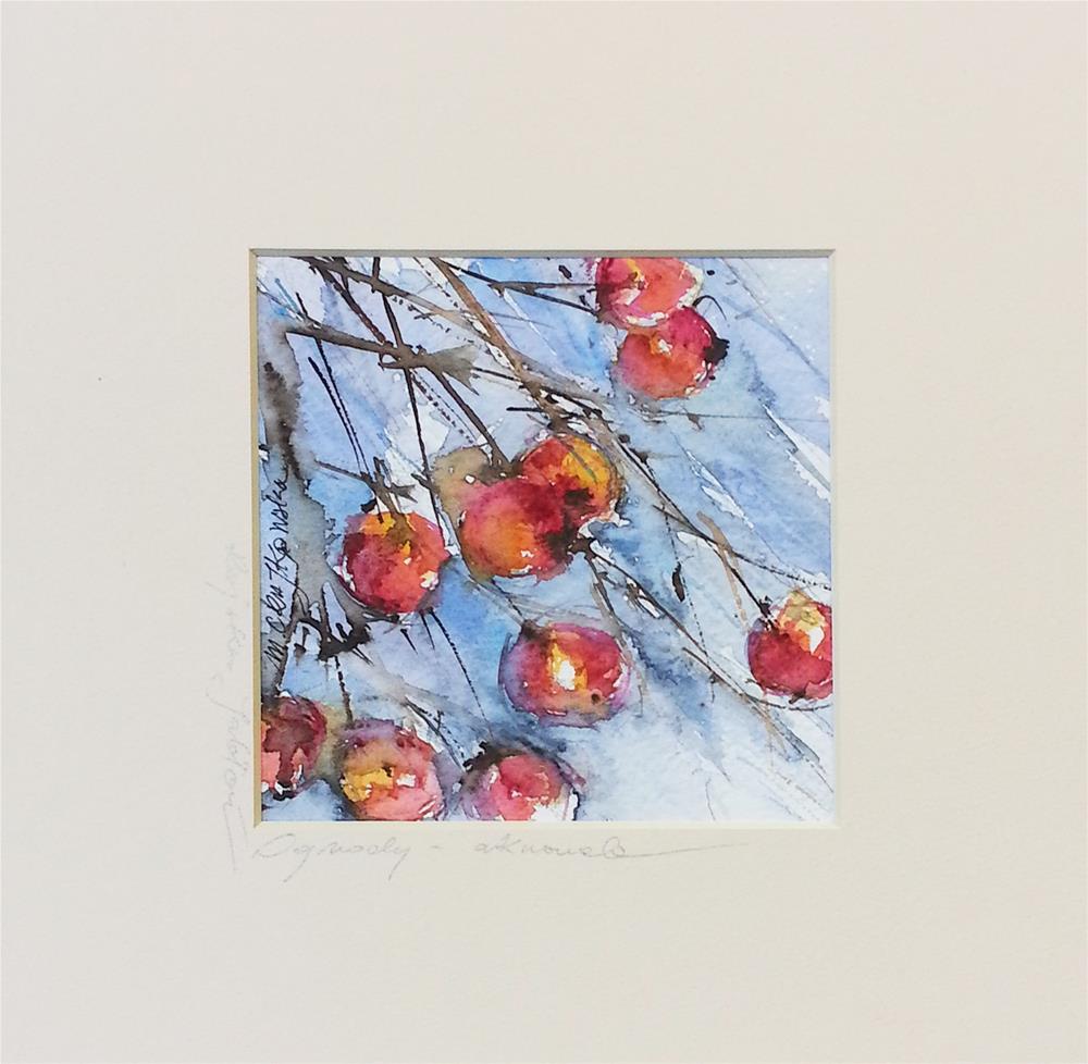 """Paradise Apples 2"" original fine art by Marlena Czajkowska"