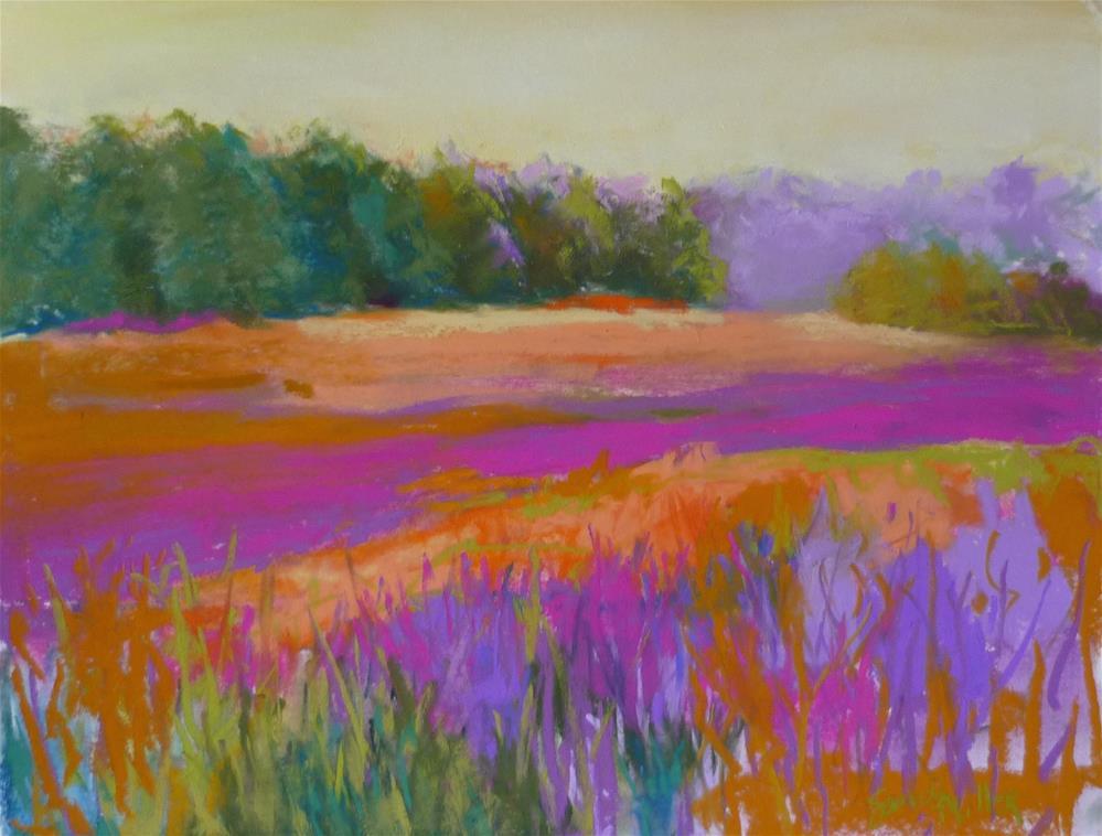 """Spring Gazing"" original fine art by Sandi Miller"