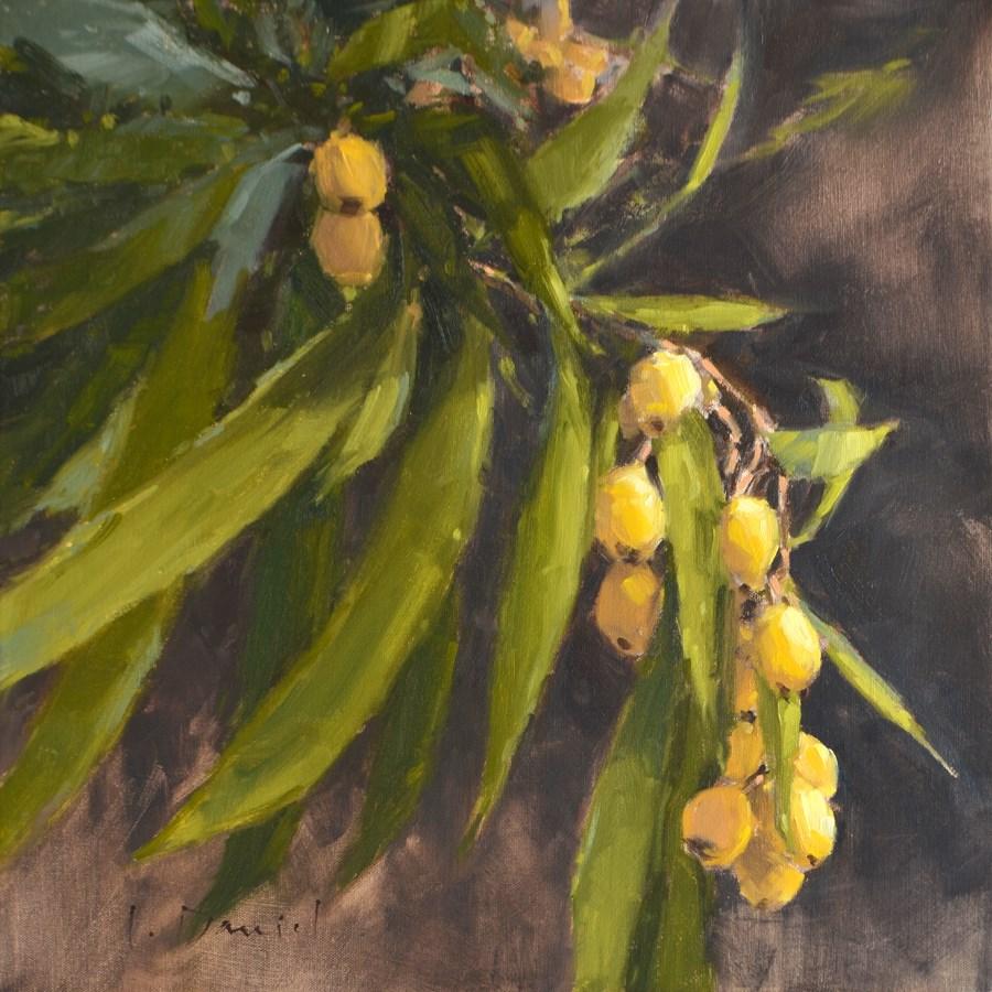 """Fruit Bearing - Show Tip #21"" original fine art by Laurel Daniel"