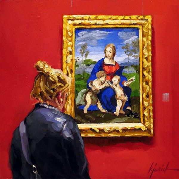 """Madonna"" original fine art by Karin Jurick"
