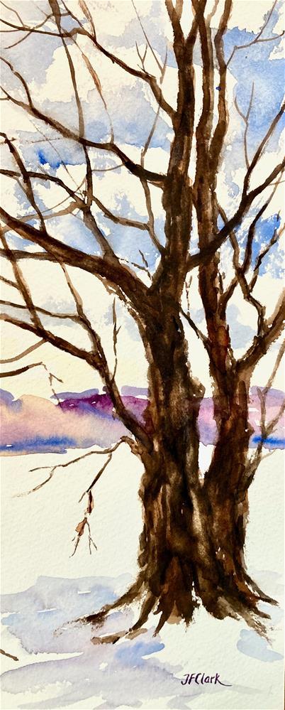 """Meteorological Spring"" original fine art by Judith Freeman Clark"