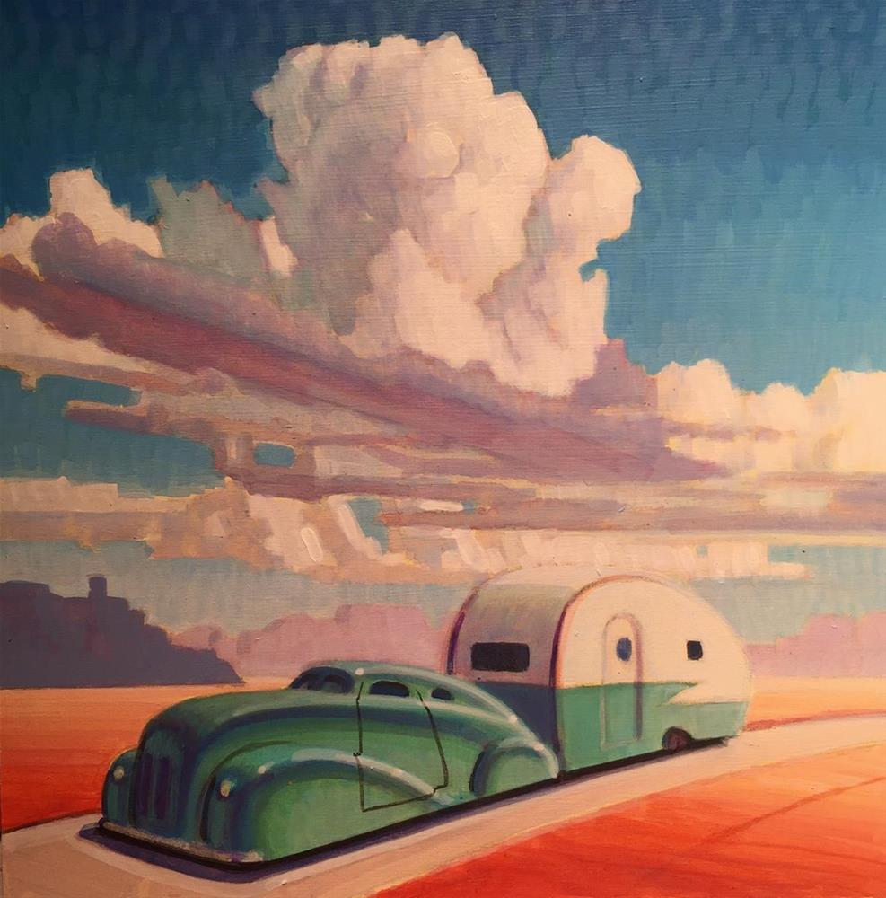 """Sun Searcher"" original fine art by Robert LaDuke"