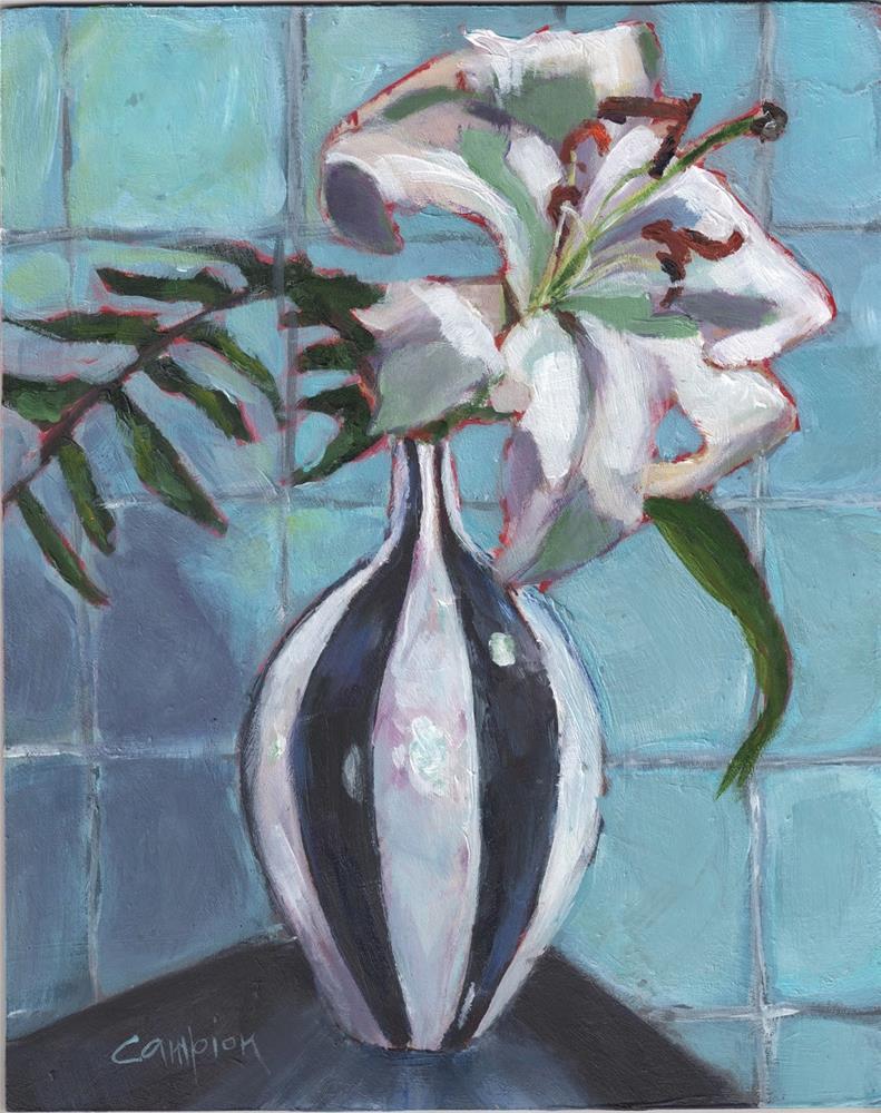 """366 Simplicity"" original fine art by Diane Campion"