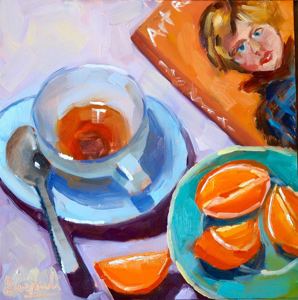 """Breakfast"" original fine art by Dipali Rabadiya"