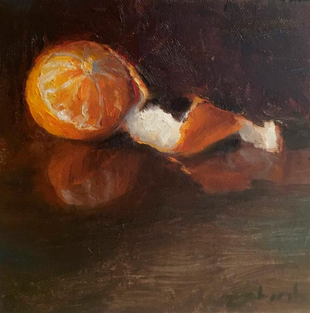 """Orange Crush"" original fine art by Tahirih Goffic"