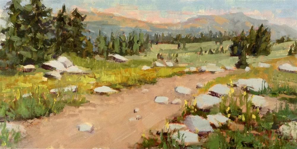 """Carson Pass"" original fine art by Barbie Smith"