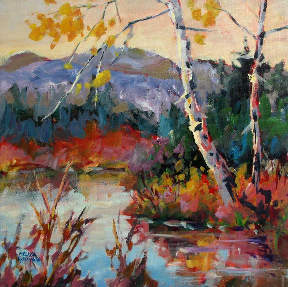 """""""Dancing Colors"""" original fine art by Melissa Gannon"""
