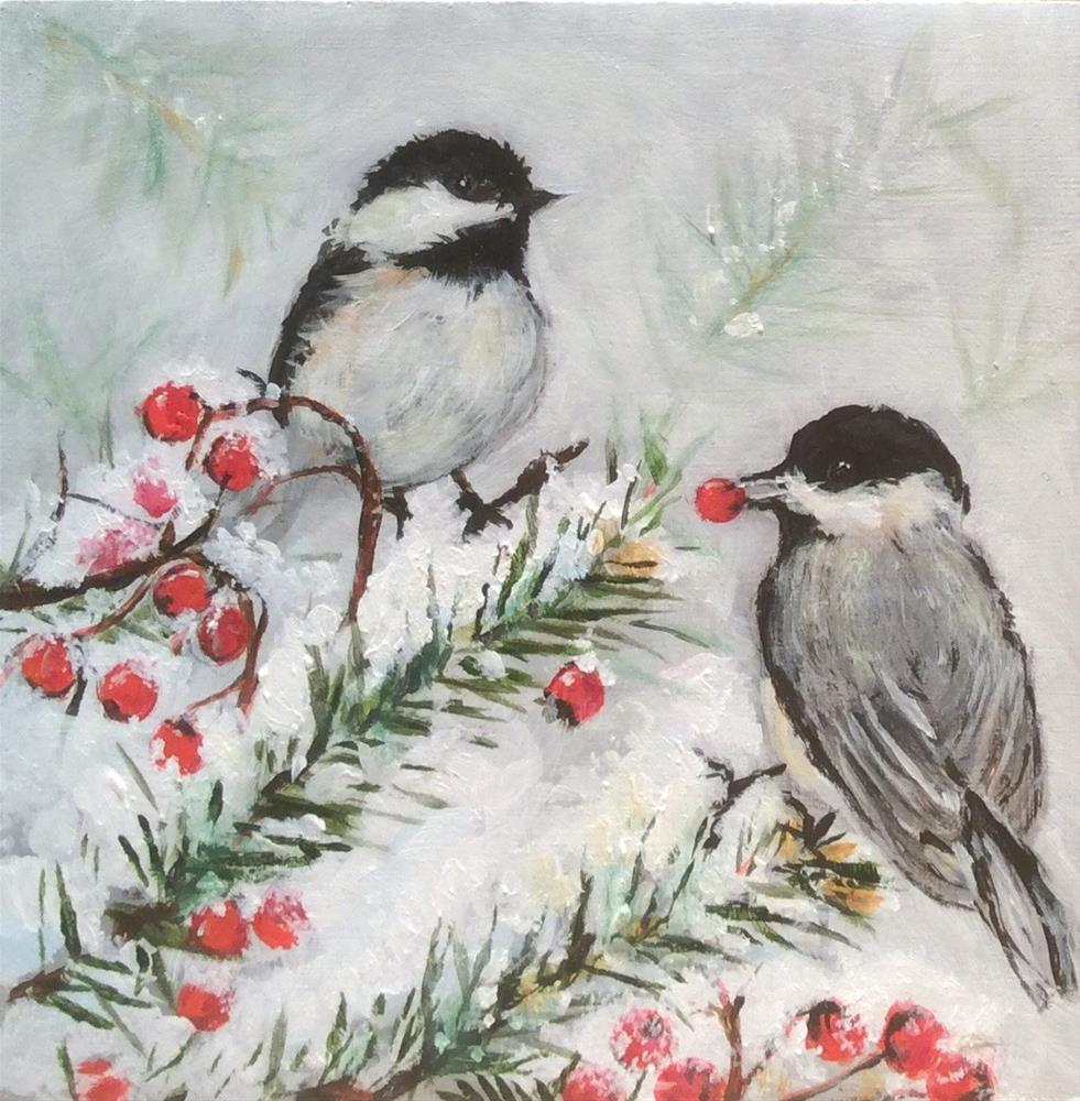 """Winter Wonder"" original fine art by wendy black"