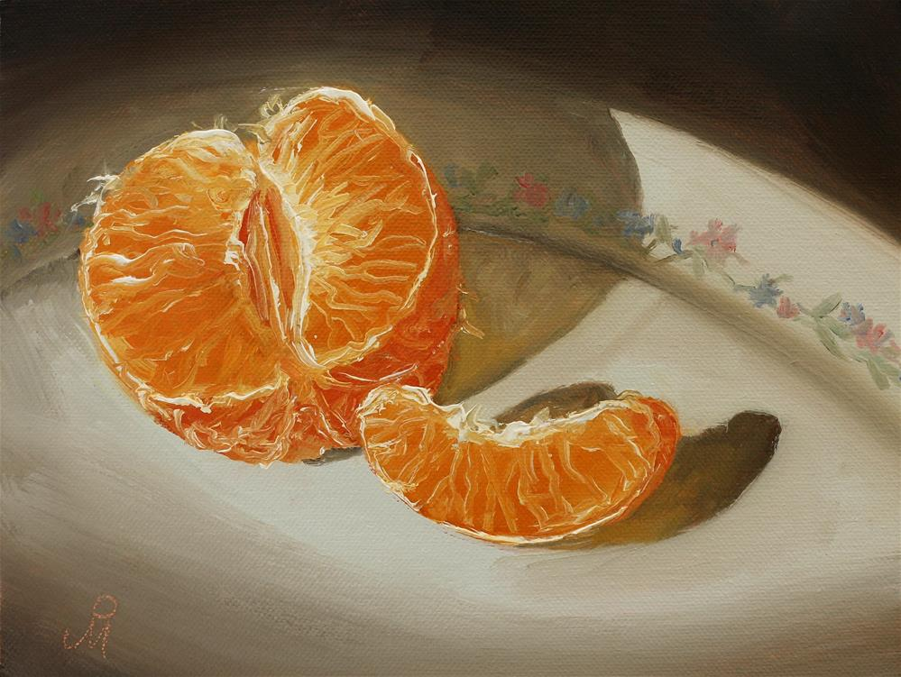 """Nagpur Orange"" original fine art by Mandar Marathe"