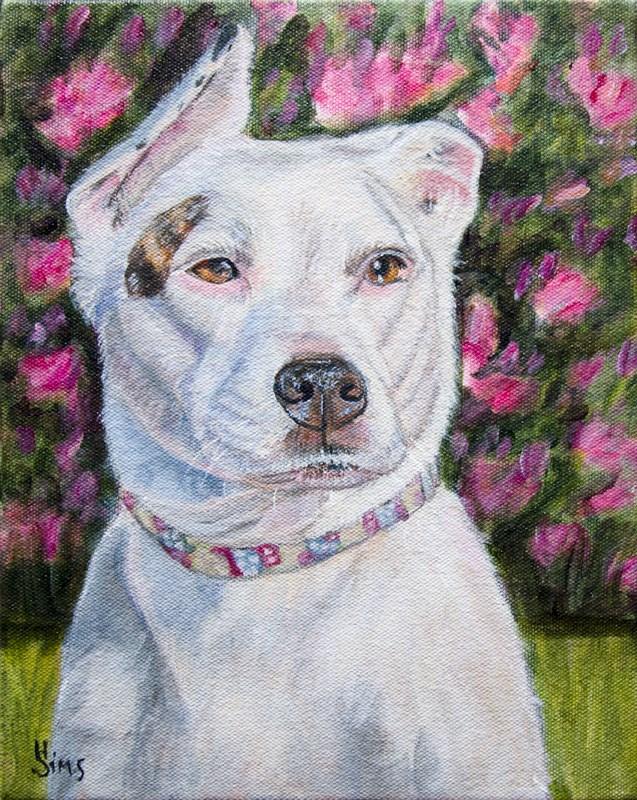 """Layla"" original fine art by Heather Sims"