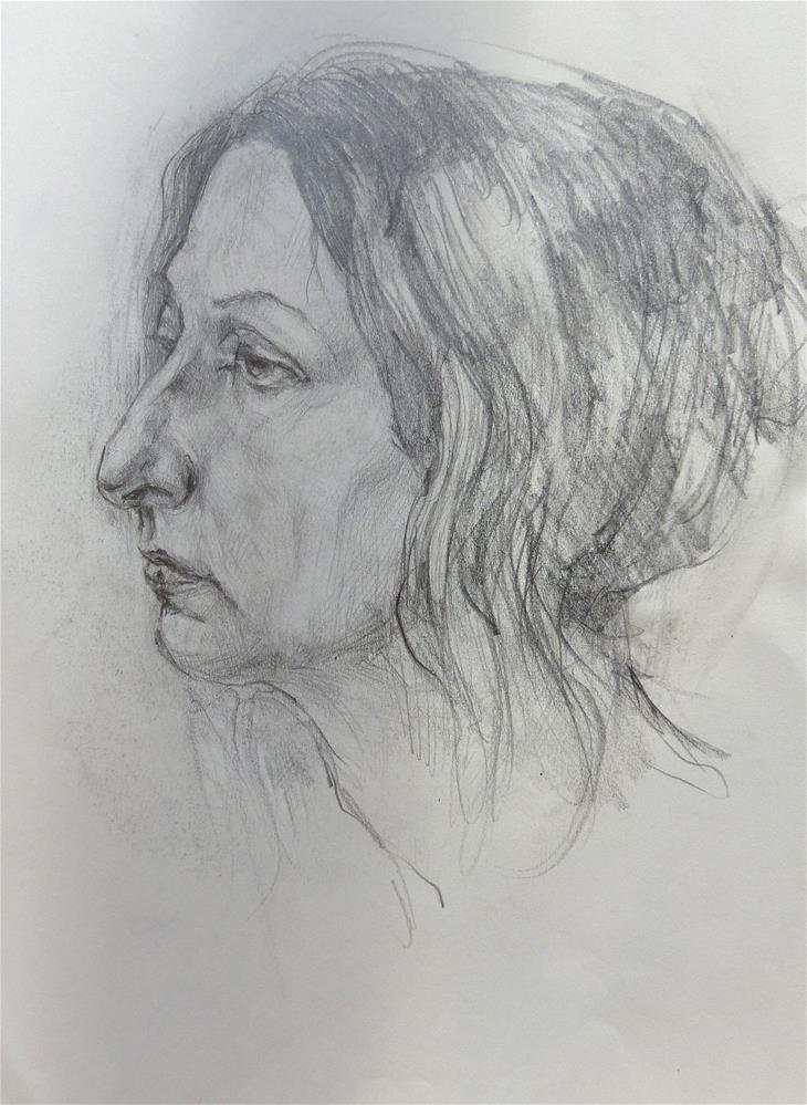 """sketchbook90"" original fine art by Katya Minkina"