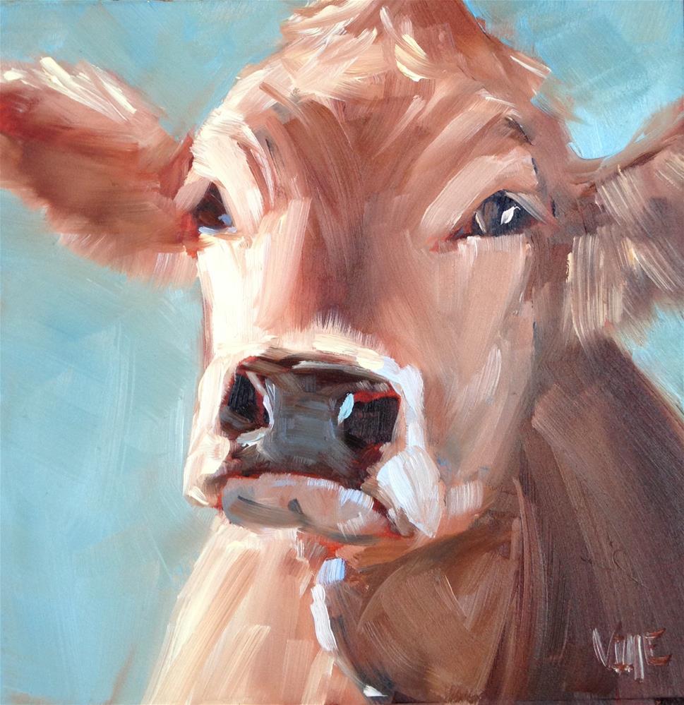 """#245 Lillian"" original fine art by Patty Voje"