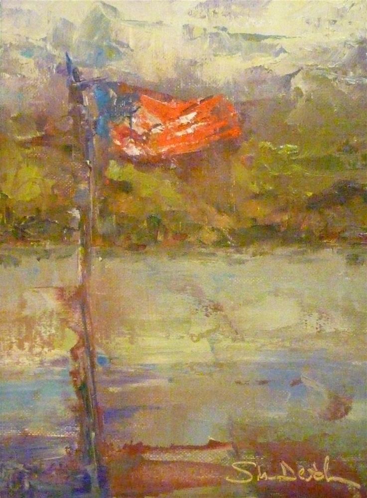 """""""Flyin' High"""" original fine art by Shawn Deitch"""