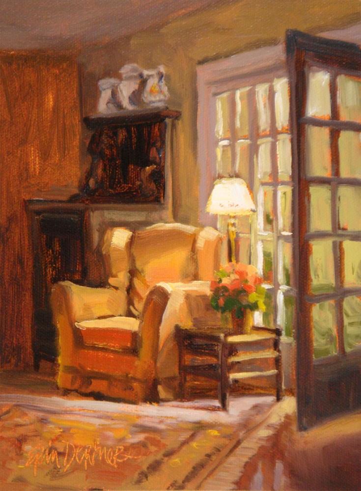 """""""Invitation to Rest"""" original fine art by Erin Dertner"""