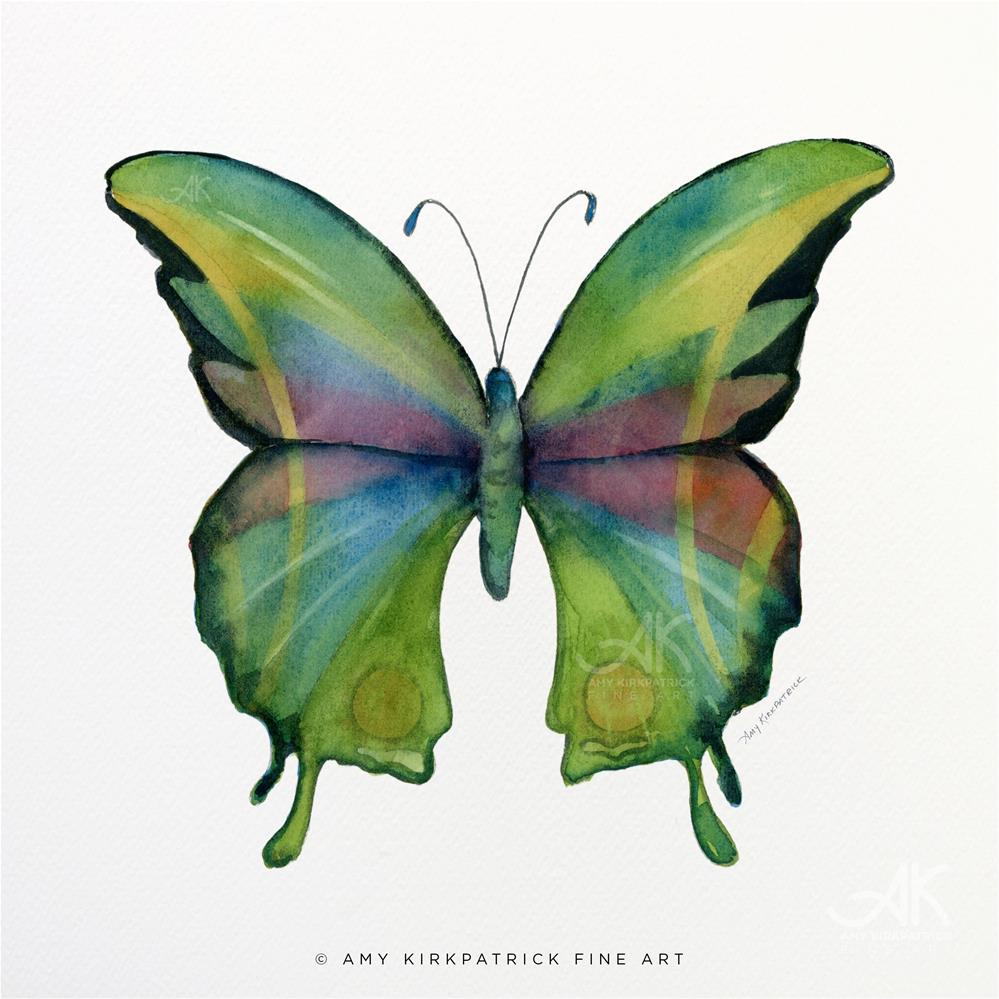 """#11 Prism Butterfly #0320"" original fine art by Amy Kirkpatrick"