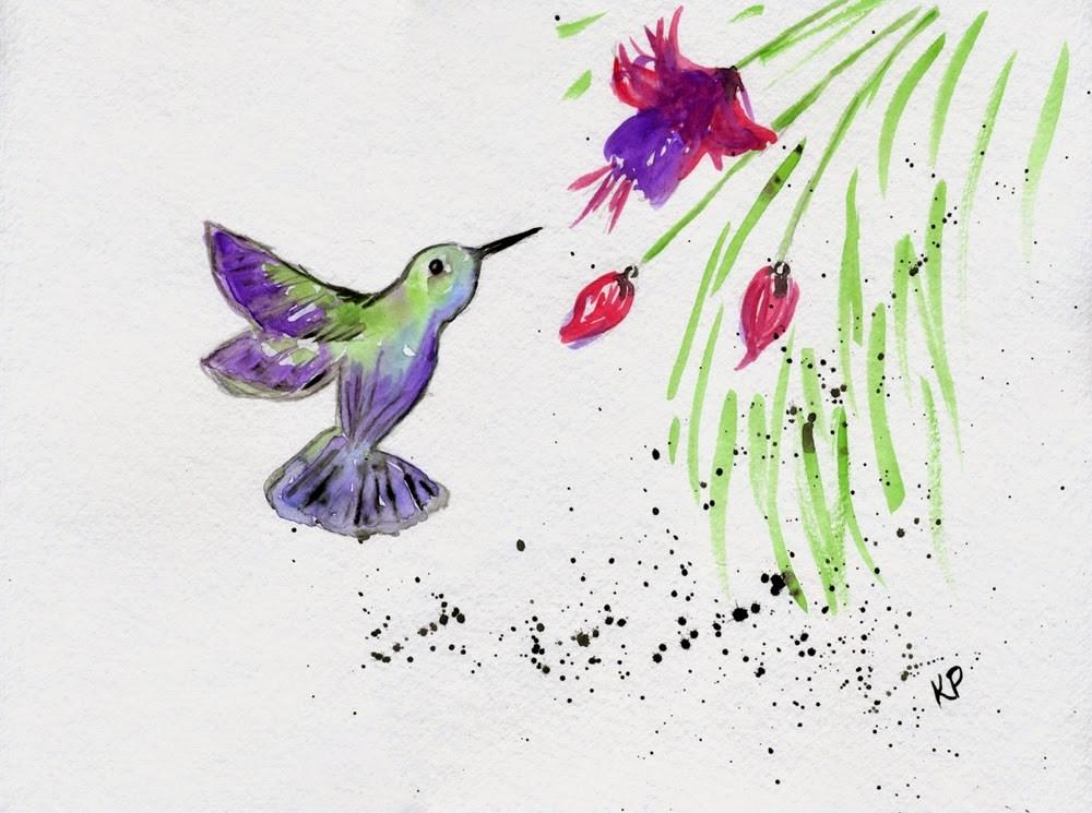 """The Sweetness"" original fine art by Kali Parsons"
