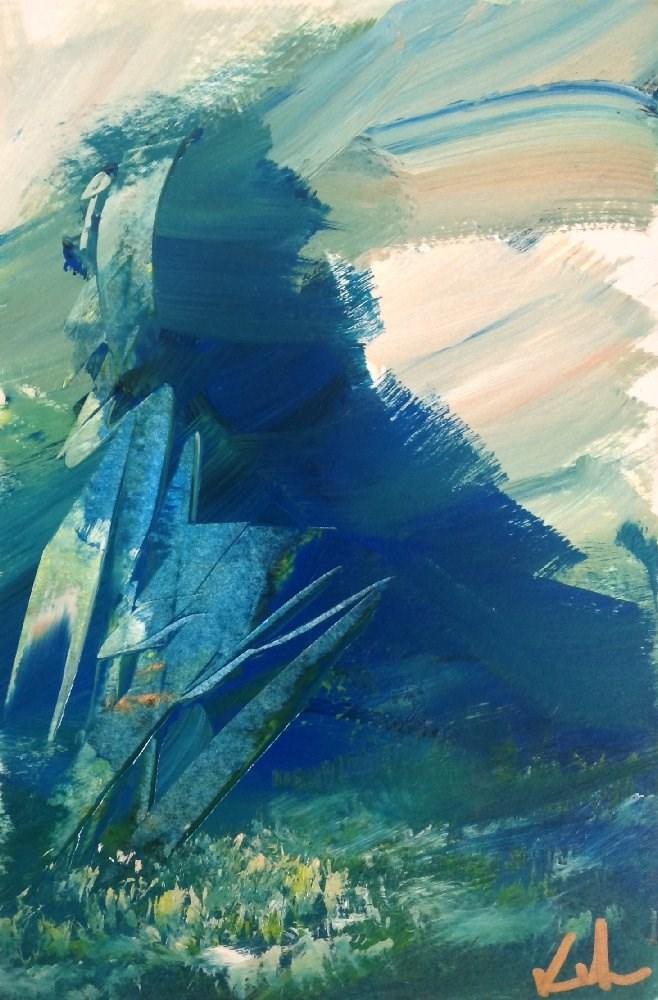 """And So Vanished"" original fine art by David Kuhn"