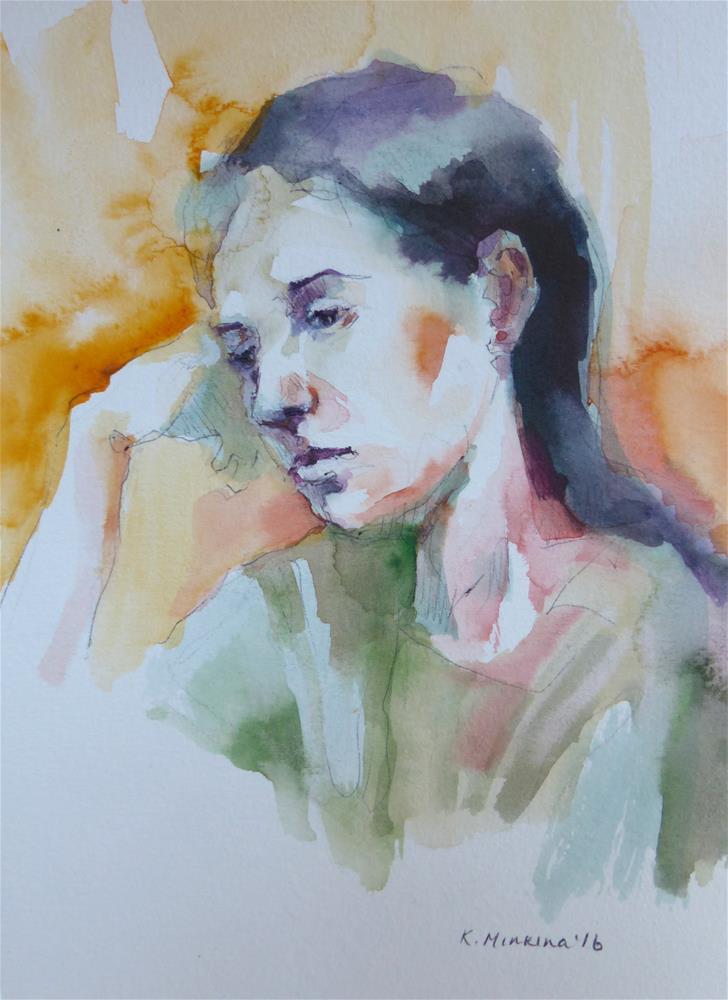 """sketchbook#43"" original fine art by Katya Minkina"