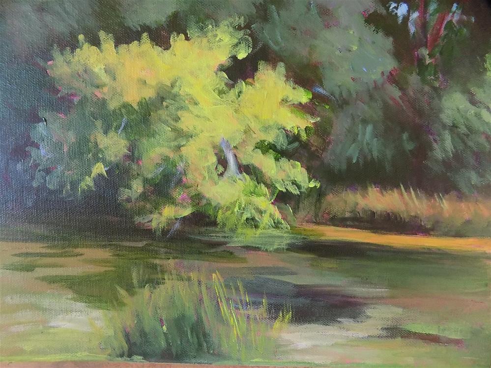 """""""Potter's Creek"""" original fine art by Joan Reive"""