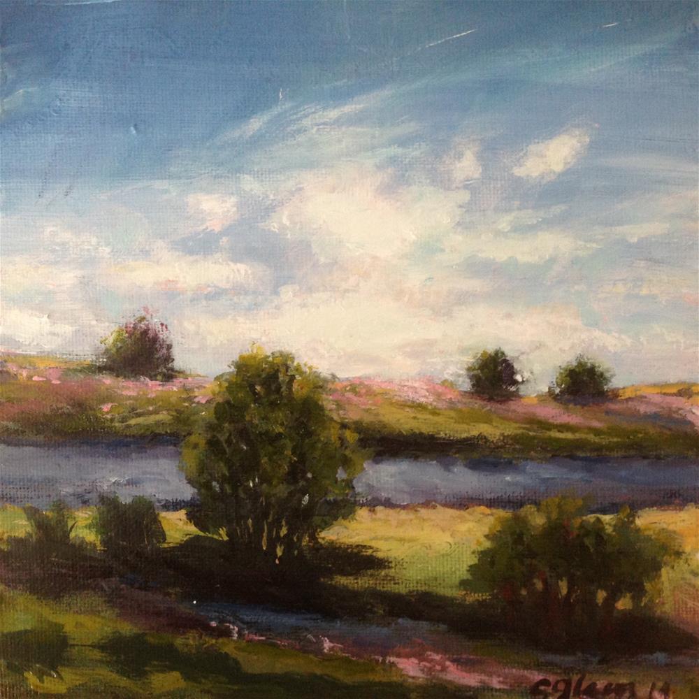 """""""Lovely Discovery"""" original fine art by christina glaser"""