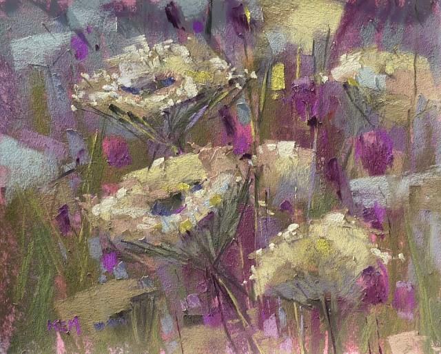 """Revisiting a Favorite Painting Spot...Blue Ridge Georgia."" original fine art by Karen Margulis"