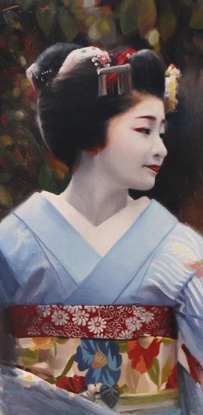 """Satsuki"" original fine art by Phil Couture"