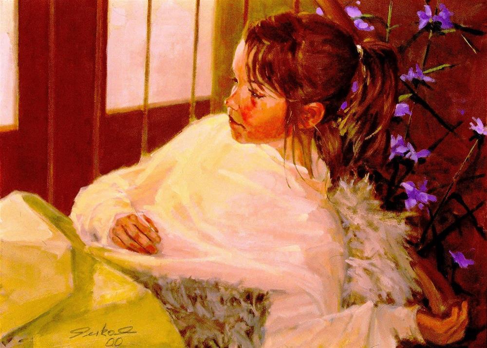 """YOUNG GIRL"" original fine art by Ron Ferkol"