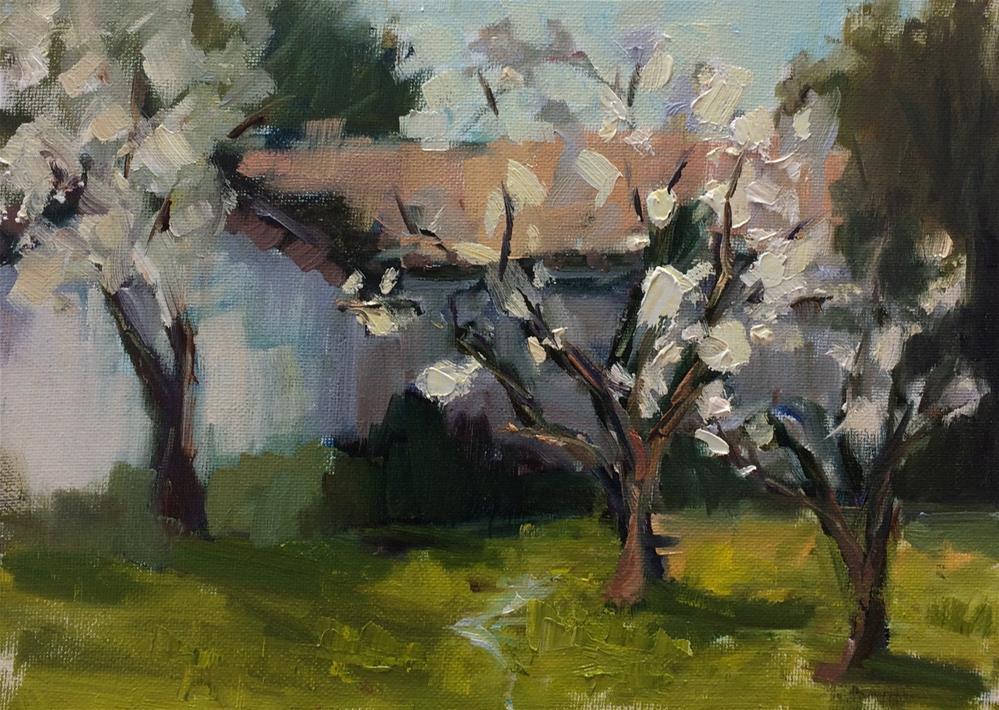 """Spring is Near"" original fine art by Naomi Bautista"