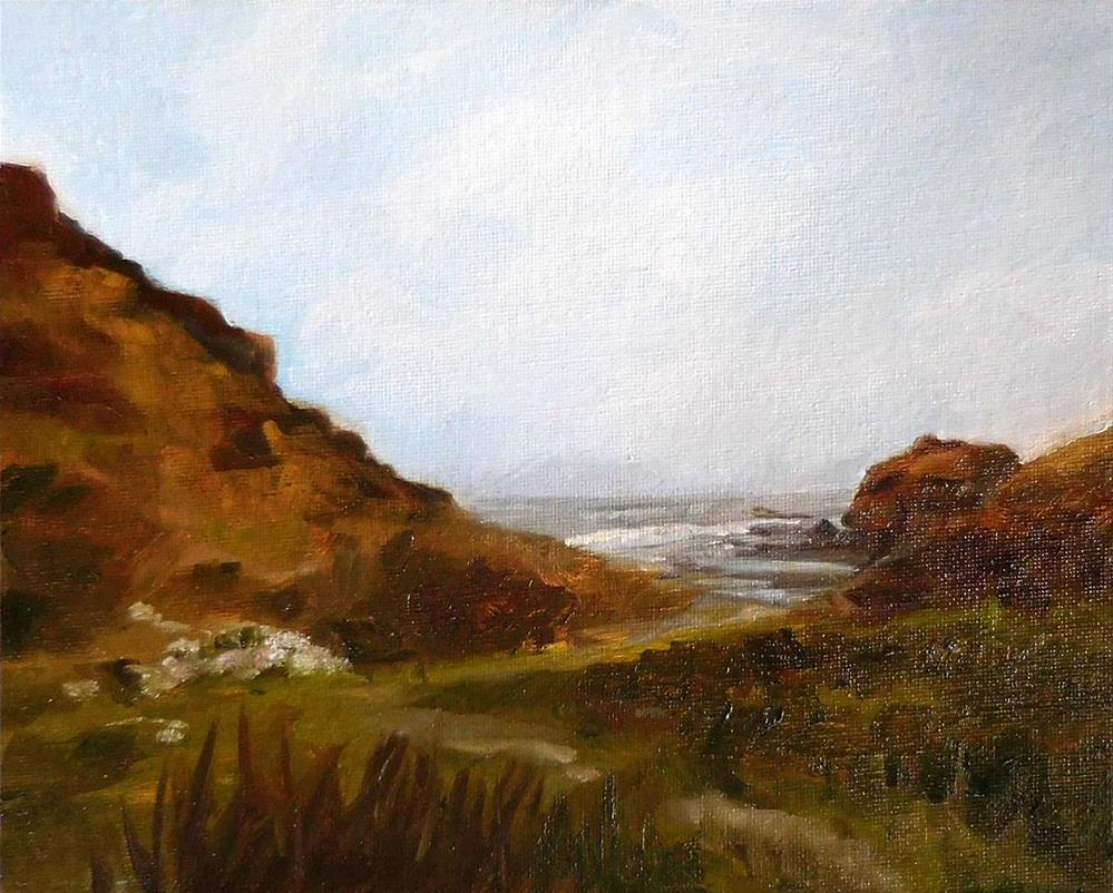 """Bear Harbor"" original fine art by Cietha Wilson"
