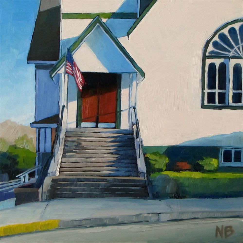 """Old Glory"" original fine art by Nora Bergman"