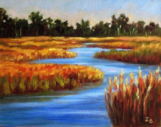 """""""Late August in Cape Cod"""" original fine art by Irina Beskina"""