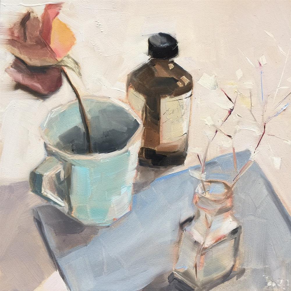 """466 Soon and Often"" original fine art by Jenny Doh"