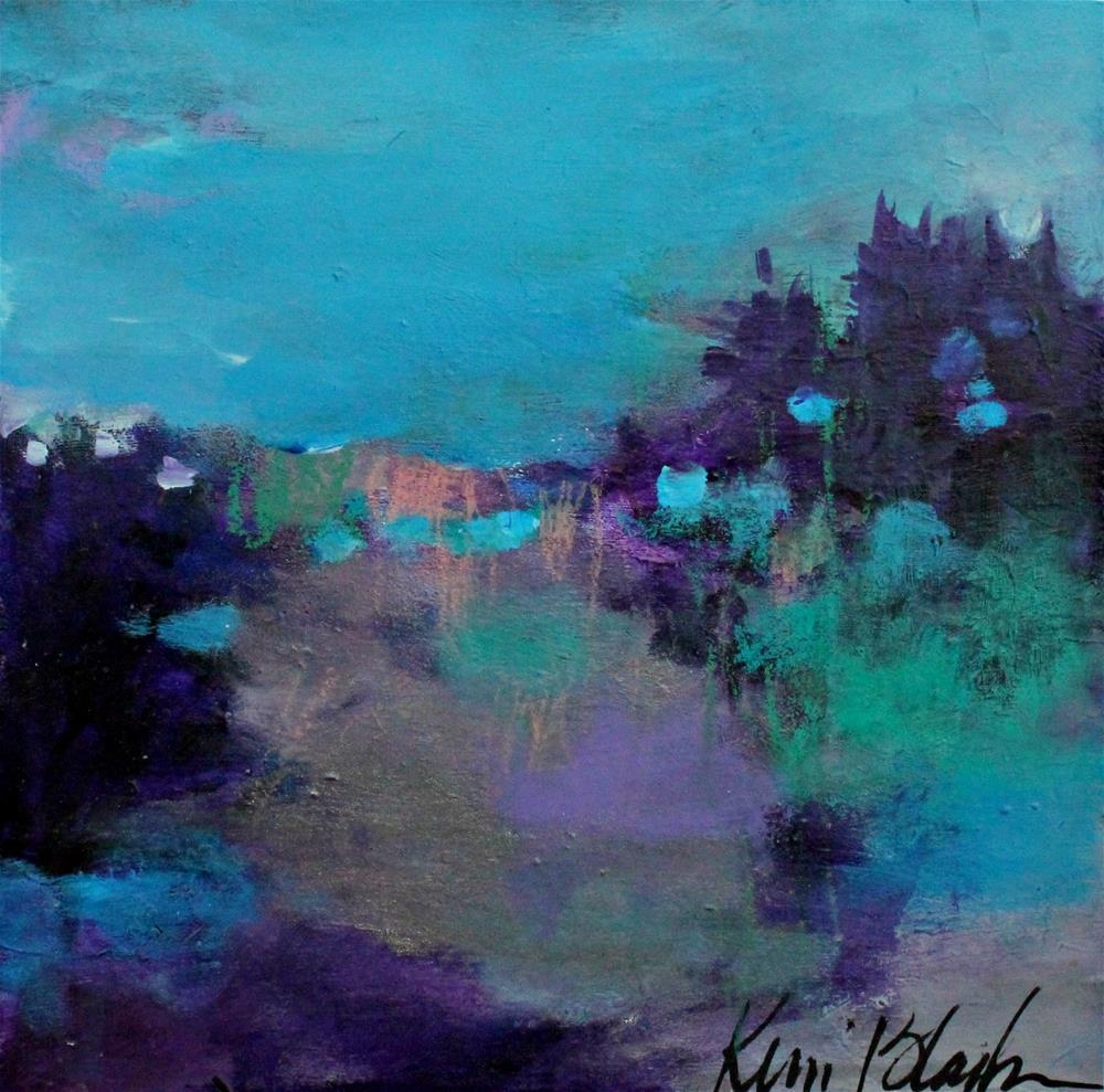 """In the Evening "" original fine art by Kerri Blackman"